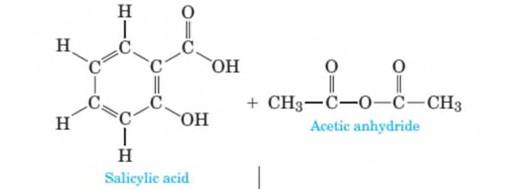 Aspirin is prepared by the reaction of salicylic- | bartleby